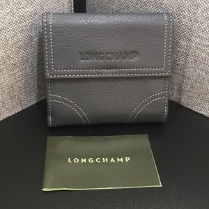 NWOT Longchamp Leather french purse